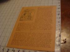 vintage Original SF Zine: LOCUS #47 Jan 22, 1970--Charlie & Dena Brown--10 pgs