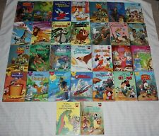 Lot of 30 Disney Wonderful World Of Reading Club Books Hardcover Set