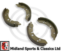 "GBS704AF - MORRIS MINOR 1000  FRONT 7"" BRAKE SHOES - SET OF 4 - GBS704"
