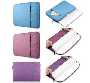 Laptop Scratch Proof Foam Padded Sleeve Sleeves Case Bag