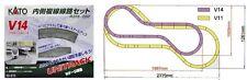 NEW KATO UNITRACK 20-873 V14 DOUBLE TRACK INSIDE SET