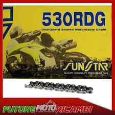 SUNSTAR CATENA GRIGIO PASSO 530 TRIUMPH TIGER 955 2005-2008 CHAIN GREY