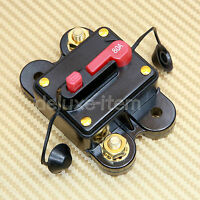 CIRCUIT BREAKER 80 AMP RESET SELF TEST 80AMP CAR AUDIO STEREO 80A REPLACE FUSE