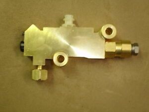 1956 1954 1955 Ford disc brake proportioning valve new with stop lamp switch kit