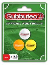 Oficial Subbuteo balones de Fútbol 3 pack