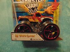 EL TORO LOCO with RED TRACK Wheels Hot Wheels Monster Jam Truck 2015 Fast Ship