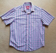 R M WILLIAMS SHORT SLEEVE longhorn CLASSIC fit Shirt  Size L NEW  WITHOUT TAGS
