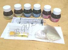 Universal INKJET INK PRINTER REFILL KIT 6 Bottles  2 x 20ML CYAN MAGENTA YELLOW