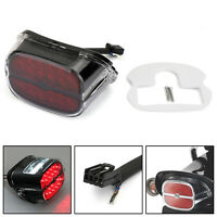 Red LED feu arrière Taillight Pour Road King Glide  Touring Black ,