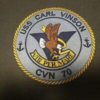 US NAVY USS CARL VINSON CVN-70 PATCH