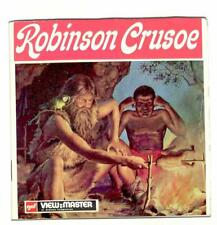 FOREIGN vintage GAF view master ROBINSON CRUSOE reel set GERMAN made in BELGIUM!