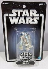 Star Wars SILVER ANNIVERSARY 1977-2002 R2-D2 ACTION FIGURE HASBRO 54917 (MOC)
