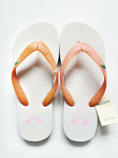 NEW WITH TAG ABERCROMBIE & FITCH Kids Pink Thong Flip Flops Girls Small