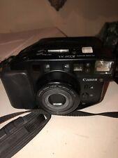Canon Sure Shot Zoom XL 35mm Film Camera + Original Canon Case & Neck Strap