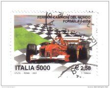 5000 lire ferrari campione del mondo formula 1 2001 usato COD FRA.206