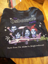 "The Osbourne Family T-Shirt L ""There Goes The *&@#'in Neighborhood"" 2002"
