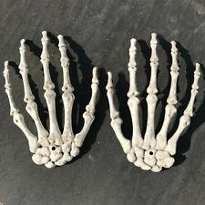 Creativo Plástico Halloween Esqueleto mano humana decoración de casa embrujada Fiesta De Hueso