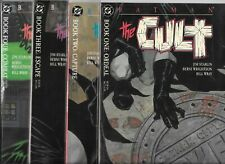 Batman: The Cult #1, #2, #3 & #4   Lot of 4 (1988, DC Comics)