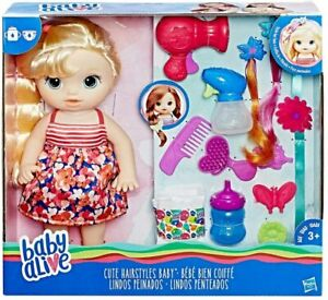 Hasbro Baby Alive Cute Hairstyles Baby - Blonde Doll
