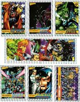 1992 1993 Wizard Magazine Promo Card Prism Foil You Pick Finish Your Set