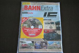 BAHN Extra 3.2021 Mail/Juni - mit DVD Baureihe 44