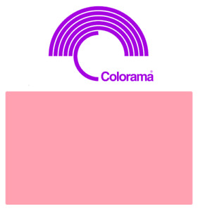 Colorama Carnation Background Paper Roll (6 ft) 1.82m x 11m - CUT IN-HOUSE
