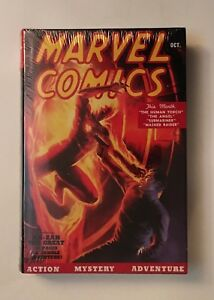 Golden Age Marvel Comics Vol 1 - Hardcover, New, Unread, and Factory Sealed