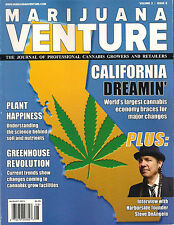 MARIJUANA VENTURE August 2015 California Change DIY How to Plant Soil Greenhouse