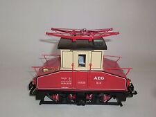 Lehmann LGB Eisenbahn 2130 AEG E-Lok E.2 Werksbahn rot Spur G OVP