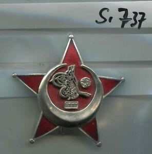 Orden Türkei Deutsches Reich Eiserner Halbmond genietet Neu 1 Stück(Si737)
