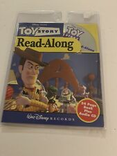 Disney Pixar Toy Story Read-Along 24 Page Book Plus Audio CD - New Sealed