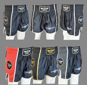 SPECIAL BORN FIGHTER MUAY THAI/KICK BOXING RETRO TRAINING/FIGHT SHORT