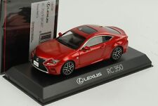 Lexus RC 350 F Sport Radiant Red CL 1:43 Kyosho diecast