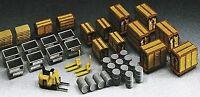 kibri 8647 containers, empilhadores, barrils, palletes 1:87