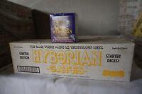 10 BOX   A Case of 1995 Hyborian Gates Collectible Card Game Unopened Starter