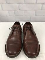 COLE HAAN Country Men's Brown Leather Oxfords Shoes Sz 9.5 M