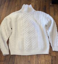 Connemara knitwear Ireland sweater cable fisherman