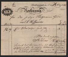 HALBERSTADT, Brief/Vorläufer 1841, A. Hoffmeister