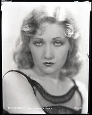 Edwina Booth beautiful original 8x10 studio negative rare portrait 1930's