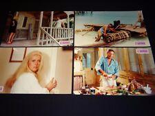 LE SAUVAGE c deneuve montand  jeu photos cinema prestige grand format 1975