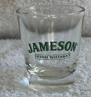 Jameson Irish Whiskey Shot Glass green logo 1 OZ
