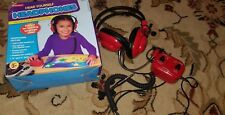 Lakeshore Learning Listening Center Headphones built in Microphone control box