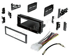 CHEVY GMC TOTAL CAR STEREO RADIO DASH INSTALL KIT + WIRE HARNESS ANTENNA ADAPTER