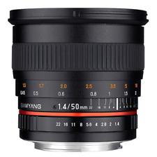 Samyang 50mm F1.4 AS UMC Fast Prime Lens: Nikon Mount