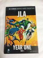 DC Comics Graphic Novel Hardback Book JLA Year One Part 1 - Justice League