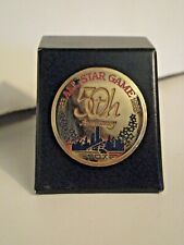 New listing 1983 All Star Game Press Pin Vintage Chicago White Sox Pin Comiskey Park