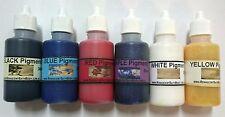 Pigments 6 X Basic 30ml Melt and Pour soap Making, Australian,Colour-fast, Color