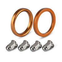 Exhaust Gaskets Nuts For Honda XL185S XL250R VF700C/F/S GL1800/1500 TL250 XR200