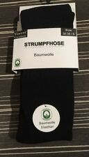 Warme Damen Strick-Strumpfhosen/Baumwolle/VCA/schwarz/gr-XL-46-48
