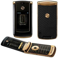 Refurbished Motorola MOTORAZR2 V8 512MB Luxury Edition Gold Unlocked Cellphone